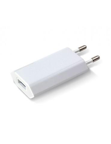 Techly Caricatore USB 1A Compatto Spina Europea Bianco IPW-USB-ECWW