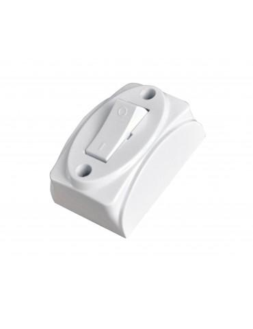 Techly Interruttore di corrente bianco