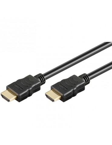 Techly ICOC HDMI-4-010NE cavo HDMI 1 m HDMI tipo A (Standard) Nero