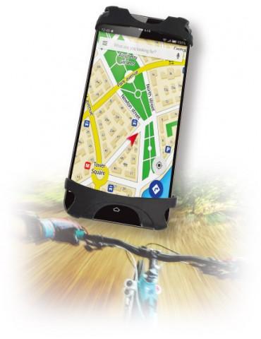 Techly Supporto per Smartphone da bicicletta in silicone